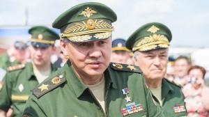 Министр обороны РФ С.К. Шойгу