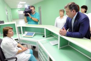 Губернатор Андрей Шевелёв инспектирует медицинские объекты