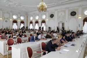 Заседание Координационного совета Санкт-Петербурга и Ленинградской области в сфере социально-экономического развития
