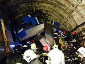 Катастрофа в московском метро.