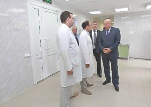 Валерий Шанцев на смотре медицинских объектов.