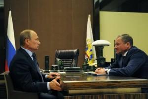 Владимир Путин и Алексей Кокорин