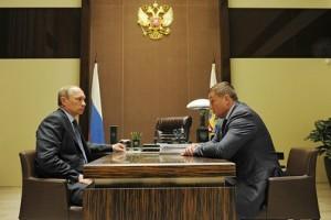 Владимир Путин и Андрей Бочаров