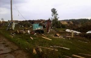 В Башкирии жертвами урагана стали два человека