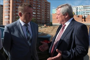 Губернатор дал неудовлетворительную оценку работе мэра и администрации Таганрога