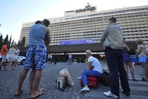 Отель Ялта-Интурист эвакуировали из-за звонка о бомбе