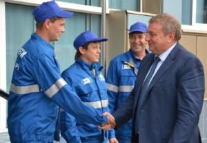 Оценку работе предприятия дал и глава города Анатолий Пахомов.