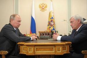 Рабочая встреча с врио губернатора Санкт-Петербурга Георгием Полтавченко