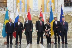 Рабочий визит в Белоруссию В. Путина