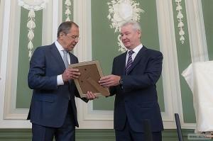 Сергей Лавров и Сергей Собянин
