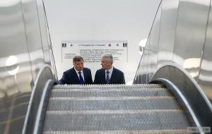 Сергей Собянин посетил строящуюся станцию метро «Новопеределкино»