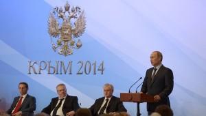 Выступление Владимира Путина в Крыму