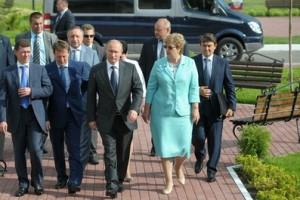 Выездное заседание  Президиума Госсовета в Воронеже.
