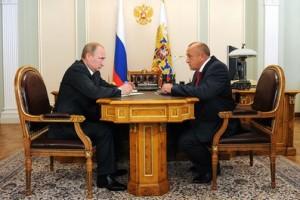 Владимир Путин и Александр Соловьев
