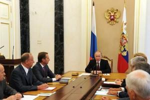 Оперативное совещание с постоянными членами Совета Безопасности