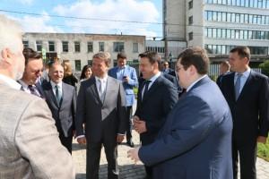 Андрей Воробьев посетил с рабочим визитом Мытищинский район