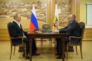 Владимир Путин и Борис Дубровский