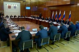 Владимир Путин провел совещание по господдержке инвестпроектов и развитию Дальнего востока