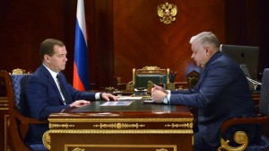 Дмитрий Медведев и Константин Ромодановский