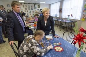 Марина Ковтун посетила единственный в регионе дом-интернат