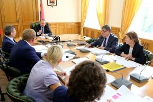 Николай Цуканов обсудил вопрос строительства детских садов