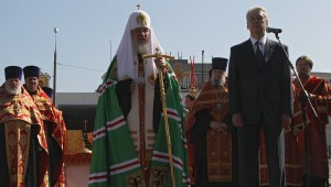 Собянин и патриарх Кирилл