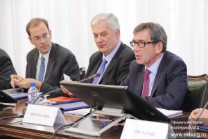 Александр Якоб встретился с послом Франции в России Жаном-Морисом Рипером