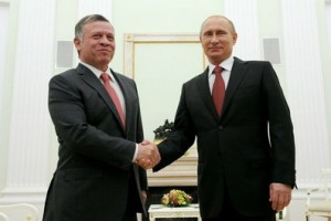 Владимир Путин встретился с Королём Иорданского Хашимитского Королевства Абдаллой II