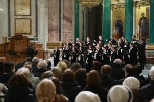 В Исаакиевском соборе состоялся благотворительный концерт