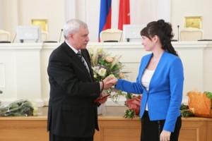 В Смольном состоялось вручение наград за вклад в развитие школьного образования