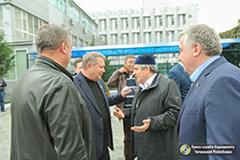 В Чеченскую Республику прибыла делегация Совета Федерации РФ