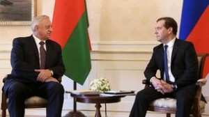 Дмитрий Медведев встретился с Премьер-министром Белоруссии Михаилом Мясниковичем