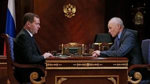Дмитрий Медведев и Григорий Рапота