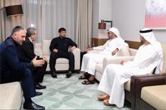 Р. Кадыров встретился с наследным принцем ОАЭ М. Аль Нахайяном