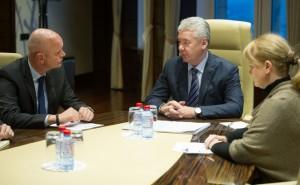 Сергей Собянин провёл встречу с Председателем Правления компании «МЕТРО АГ» Олафом Кохом