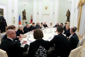 Состоялась встреча Владимира Путина с представителями музейного сообщества