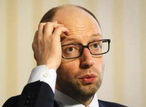 """Глава украинского правительства Арсений Яценюк передумал строить """"Стену"""" - ее все равно украдут"""