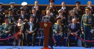 Гости Президента на Параде Победы