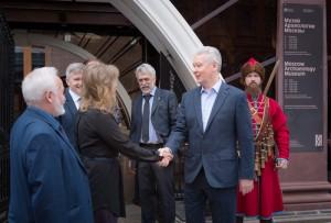 Мэр Москвы Сергей Собянин открыл археологический музей на Манежной площади