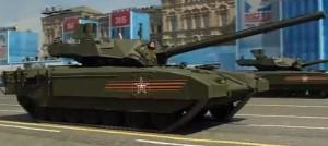 """Танк """"Армата"""" Т-14. Владимир Путин потребовал срочно растиражировать вооружение представленное на параде Победы"""
