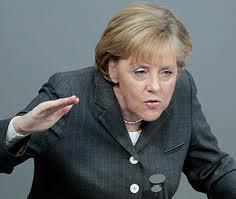 Канцлер ФРГ Ангела Меркель: В России отсутствуют демократические ценности и верховенство закона