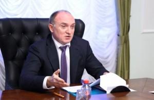 Глава Челябинской области Борис Дубровский