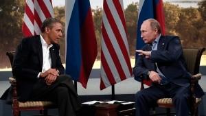США. Вашингтон, Белый дом: Обама и Путин поддерживают рабочие отношения