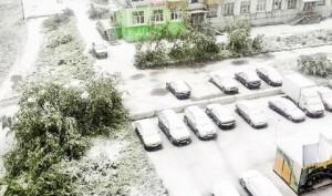 Погодные аномалии становятся не редкостью: Воркуту засыпало снегом