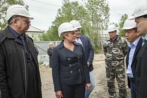 Глава Мурмана Марина Ковтун похвалила Мончегорск