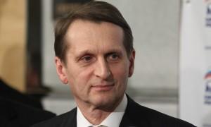 Руководитель Госдумы Сергей Нарышкин рассказал французам об аннексии Крыма Украиной и перспективах российско-украинского противостояния