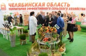 Глава Южного Урала Борис Дубровский посетил агропромышленную выставку в Ханты-Мансийске