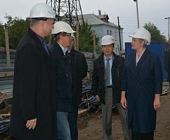 Глава Мурмана Марина Ковтун и мурманские строители обсудили перспективы развития отрасли в Заполярье