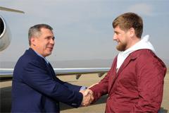 Рустам Минниханов и Рамзан Кадыров