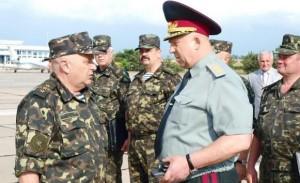 Украинские генералы. Генштаб Украины считает, что российский полигон Ашулук находится в ДНР